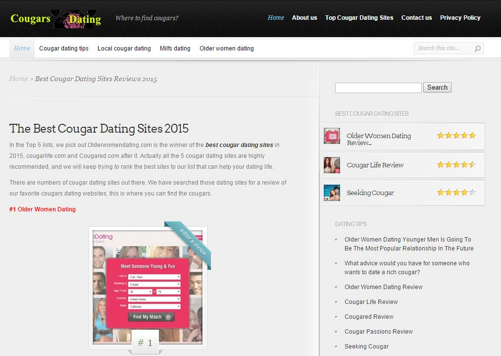 List of best dating site 2015